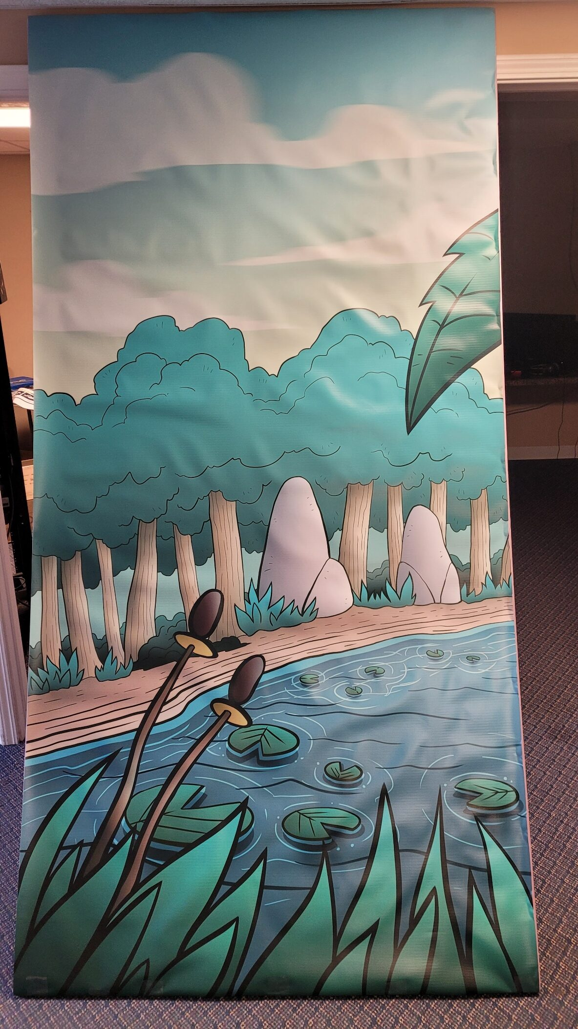 Day 3 Left Side Background Banner